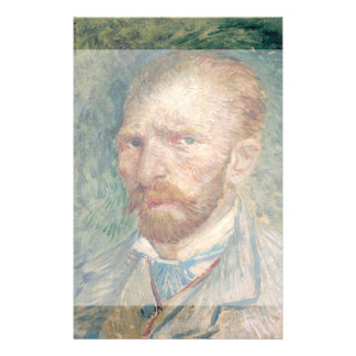 Self-Portrait by Vincent Van Gogh 14 Cm X 21.5 Cm Flyer