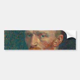 Self Portrait by Vincent Van Gogh 1887 Bumper Sticker