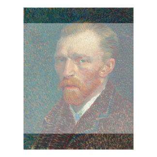 Self Portrait by Vincent Van Gogh 1887 Flyer