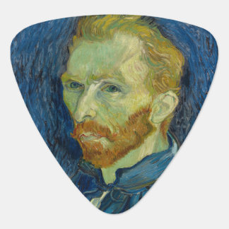 Self Portrait by Vincent Van Gogh 1889 Plectrum