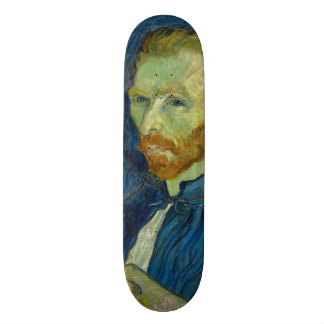 Self Portrait by Vincent Van Gogh 1889 Skateboard Deck