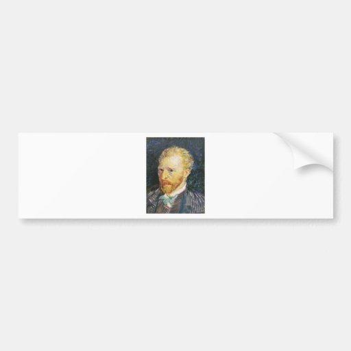 Self-Portrait by Vincent van Gogh Bumper Sticker