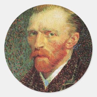 Self-Portrait by Vincent van Gogh Stickers