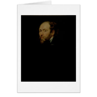 Self Portrait, c.1618 (oil on panel) Greeting Card