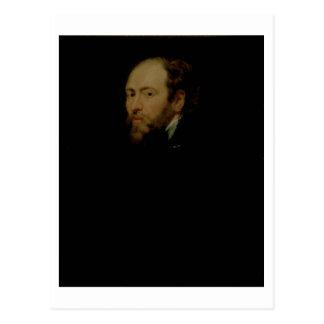 Self Portrait, c.1618 (oil on panel) Postcard