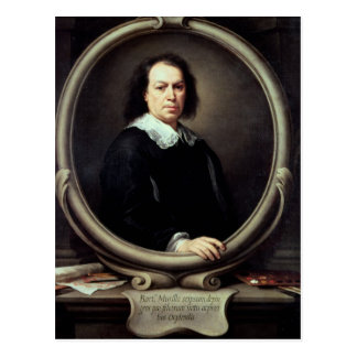 Self portrait, c.1670-73 postcard