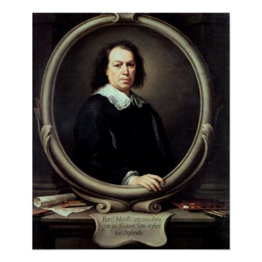 Self portrait, c.1670-73 poster