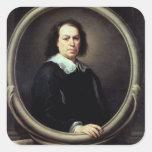 Self portrait, c.1670-73 square sticker