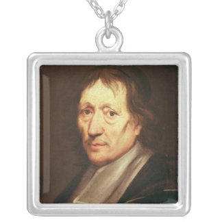 Self Portrait, c.1672 Silver Plated Necklace