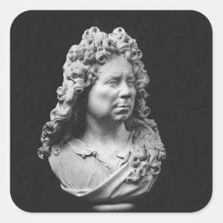 Self portrait, c.1680-93 square sticker
