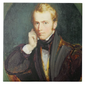 Self Portrait, c.1827-37 (oil on panel) Tile