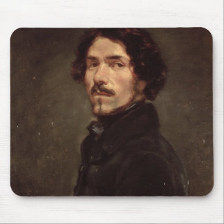 Self portrait, c.1840 (oil on canvas) (see also 16 mouse pad