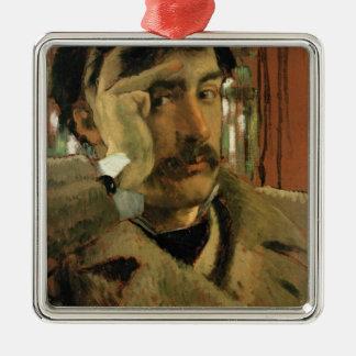 Self portrait, c.1865 christmas ornament