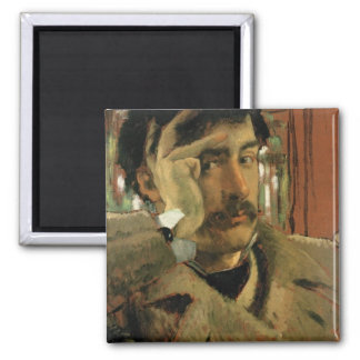 Self portrait, c.1865 magnet