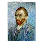 Self Portrait c.1899, Vincent Van Gogh Cards