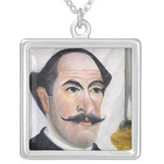 Self portrait, c.1900-03 pendant