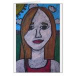 Self Portrait Cards