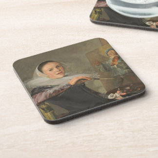 Self-Portrait Coaster