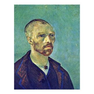 Self-Portrait Dedicated To Paul Gauguin)  By Vince 21.5 Cm X 28 Cm Flyer
