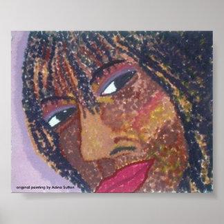 """Self Portrait - Digitally Restored Poster"