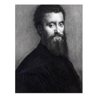 Self Portrait, engraved by Jean-Louis Potrelle Postcard