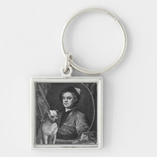 Self Portrait, engraved by T. Cook, 1809 Keychain
