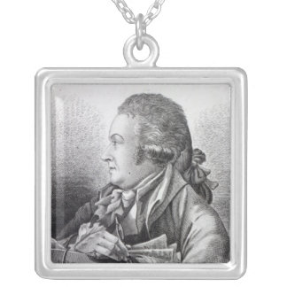 Self Portrait, frontispiece to his 'Book of Silver Plated Necklace