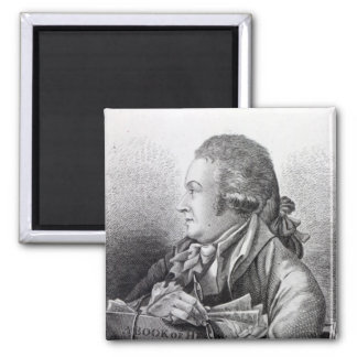 Self Portrait, frontispiece to his 'Book of Square Magnet