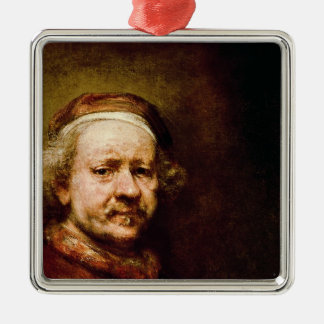 Self Portrait in at the Age of 63, 1669 Christmas Ornament