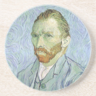 Self Portrait in Blue by Vincent van Gogh Coaster