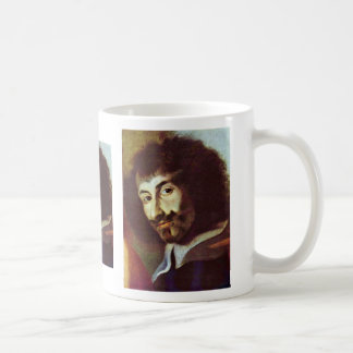 Self-Portrait In The Painting Of St. Charles Borro Coffee Mug