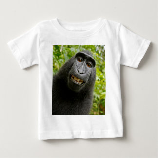 Self Portrait - Macaca-Nigra (Black Ape) Baby T-Shirt