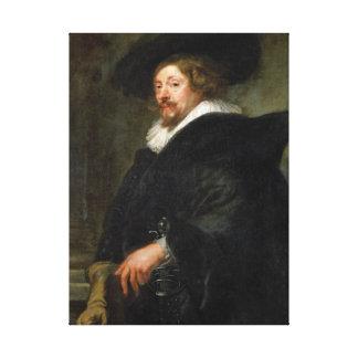 Self Portrait Peter Paul Rubens oil painting Canvas Print