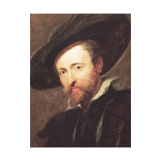 Self Portrait  Peter Paul Rubens oil painting Stretched Canvas Print