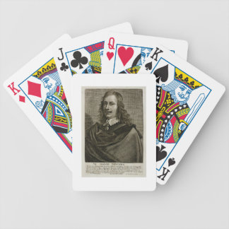 Self Portrait, plate 79 from a series of portraits Bicycle Playing Cards