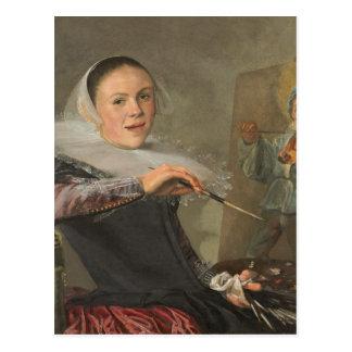 Self-Portrait Postcard