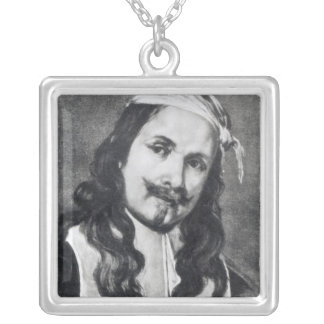 Self-portrait Silver Plated Necklace