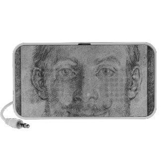 Self portrait iPod speakers