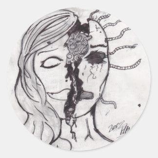 Self-Portrait Stickers