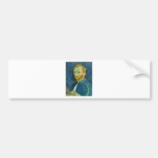 Self-Portrait, Vincent van Gogh Bumper Sticker