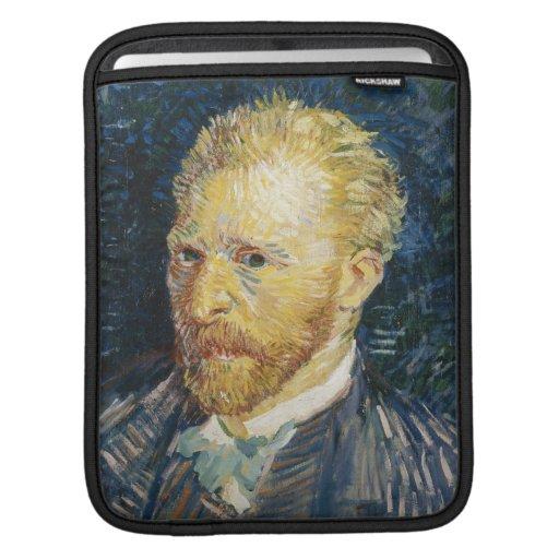 Self Portrait Vincent van Gogh fine art painting iPad Sleeves