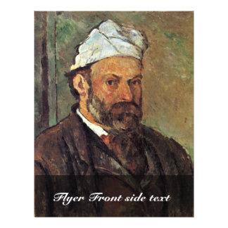 Self-Portrait With A White Turban By Paul Cézanne 21.5 Cm X 28 Cm Flyer