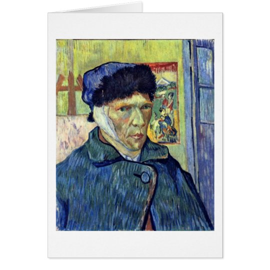Self-Portrait With Cut Ear By Vincent Van Gogh