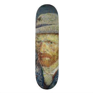 Self-Portrait with Grey Felt Hat by Van Gogh Skateboard Deck