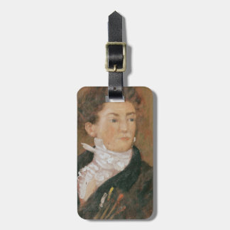 Self portrait with paintbrushes luggage tag