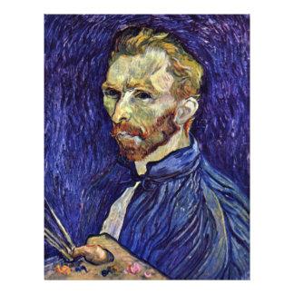 Self Portrait With Palette By Vincent Van Gogh 21.5 Cm X 28 Cm Flyer