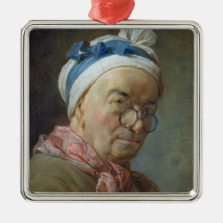 Self Portrait with Spectacles, 1771 Christmas Ornament