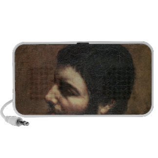 Self Portrait with Striped Collar Notebook Speaker