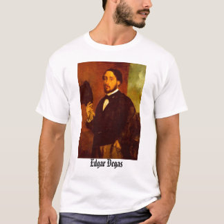 Self Portrait With Top Hat - Edgar Degas, Edgar...