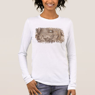Self Portrait with Two Young Men (pen & brown ink Long Sleeve T-Shirt